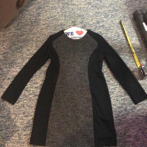 LOFT Dresses & Skirts - Black and Gray Long Sleeve Dress